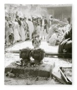 Hindu Festival Fleece Blanket