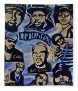 Hip Hop Is Dead #1 Fleece Blanket