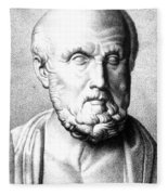 Hippocrates, Greek Physician, Father Fleece Blanket