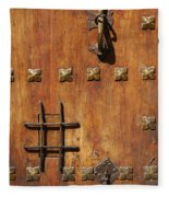 Historic Door Fleece Blanket