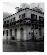 Historic French Quarter No 1 Fleece Blanket