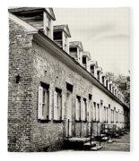 Historic Row Homes Allaire Village Fleece Blanket