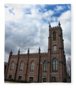 Historical 1st Presbyterian Church - Gates Avenue Se Huntsville Alabama Usa - Circa 1818 Fleece Blanket