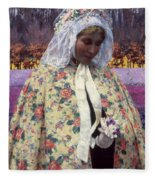 Hitchcock: The Bride, 1900 Fleece Blanket