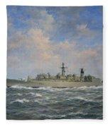 H.m.s. Chatham Type 22 - Batch 3 Fleece Blanket