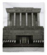 Ho Chi Minh Mausoleum Fleece Blanket