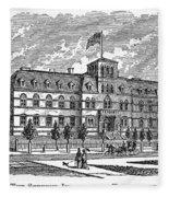Hoboken: College, 1878 Fleece Blanket