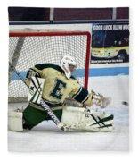 Hockey The Big Reach Fleece Blanket