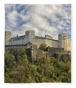 Hohensalzburg Castle Fleece Blanket