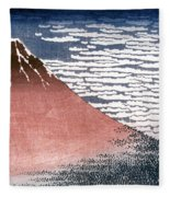 Hokusai: Fuji Fleece Blanket