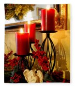 Holiday Candles Hcp Fleece Blanket