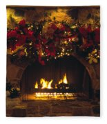 Holiday Hearth Fleece Blanket