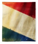 Holland Flag Fleece Blanket