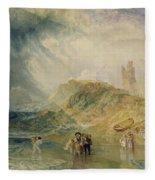 Holy Island - Northumberland Fleece Blanket