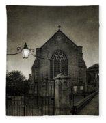 Holy Trinity Church Bradford On Avon England Fleece Blanket