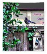 Home Sweet Home 1 Fleece Blanket