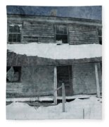 Homestead Blues Fleece Blanket