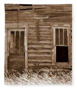 Homestead Past Fleece Blanket
