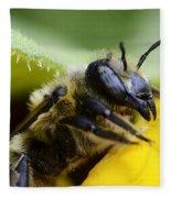 Honey Bee 2 Fleece Blanket