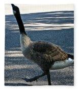 Honk And Strut Fleece Blanket