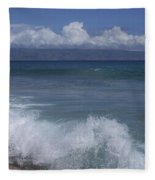 Honokohau Aloalo Aheahe D T Fleming Beach Maui Hawaii Fleece Blanket