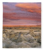 Hoodoos, Milk River Badlands, Writing Fleece Blanket