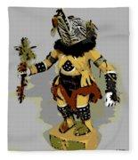 Hopi Dancer Fleece Blanket