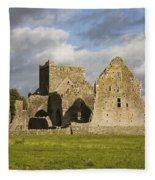 Hore Abbey, Cashel, County Tipperary Fleece Blanket