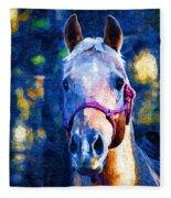 Horse Beautiful Fleece Blanket