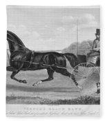 Horse Racing, C1850 Fleece Blanket