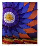 Hot Air Balloon 13 Fleece Blanket