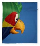 Hot Air Balloon 2 Fleece Blanket