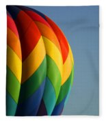 Hot Air Balloon 3 Fleece Blanket
