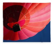 Hot Air Balloon 4 Fleece Blanket