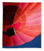 Hot Air Balloon 4 Fleece Blanket