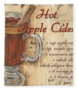 Hot Apple Cider Fleece Blanket