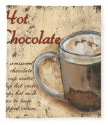 Hot Chocolate Fleece Blanket
