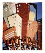Hot City Streets Fleece Blanket