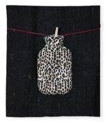 Hot-water Bottle Fleece Blanket