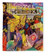 Hotel Essex  Fleece Blanket