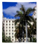 Hotel Nacional De Cuba Fleece Blanket