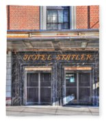 Hotel Statler Fleece Blanket