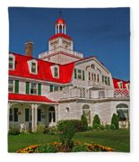 Hotel Tadoussac ... Fleece Blanket