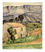 House In Provence Fleece Blanket