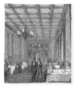 House Of Commons, 1854 Fleece Blanket