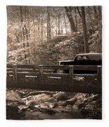 How To Tour Mountains Fleece Blanket