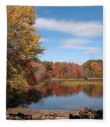 Howard's Lake Fleece Blanket