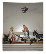Hummel Nativity Set Fleece Blanket