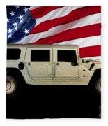 Hummer Patriot Fleece Blanket