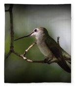 Hummingbird - Under The Canopy Fleece Blanket